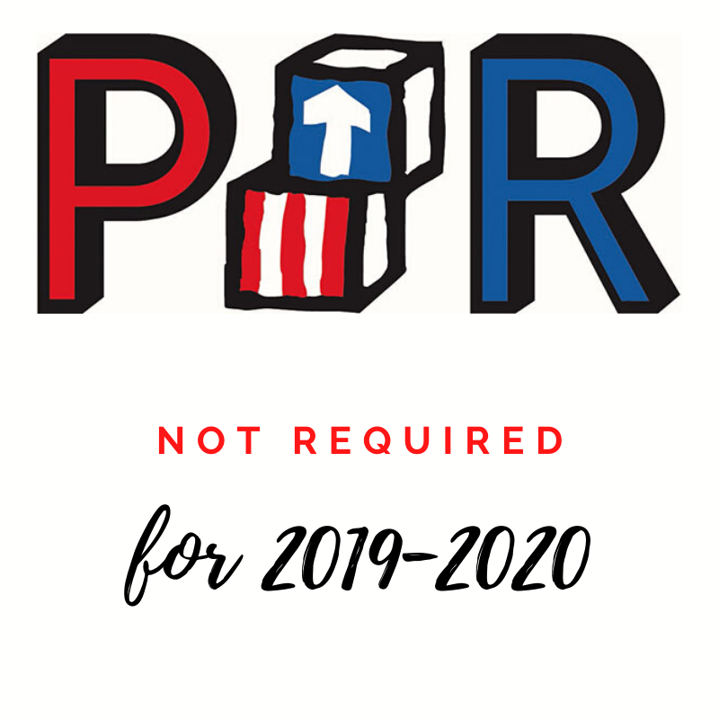 2019-2020 PIR Not Required