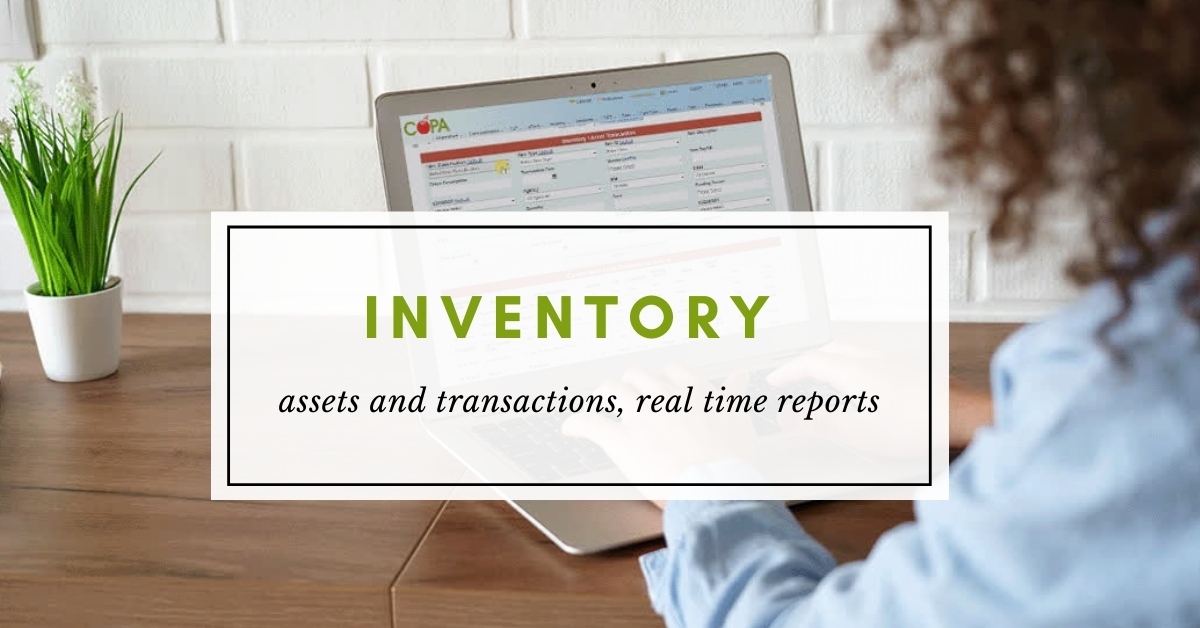 copa inventory management software for head start